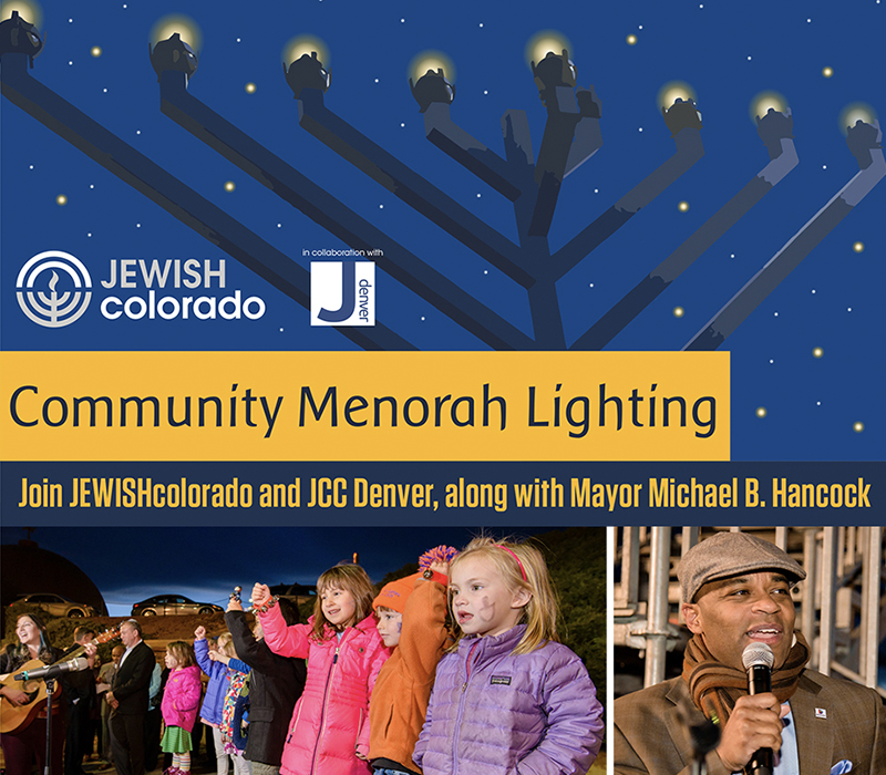Community Menorah Lighting Flyer